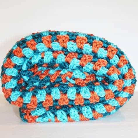 Double Crochet Cluster Blanket
