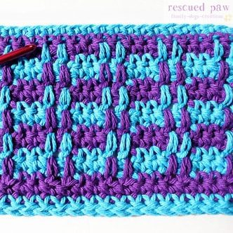 Crochet Ridge Stitch