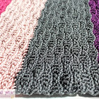 Crochet Wave Stitch Tutorial and Blanket