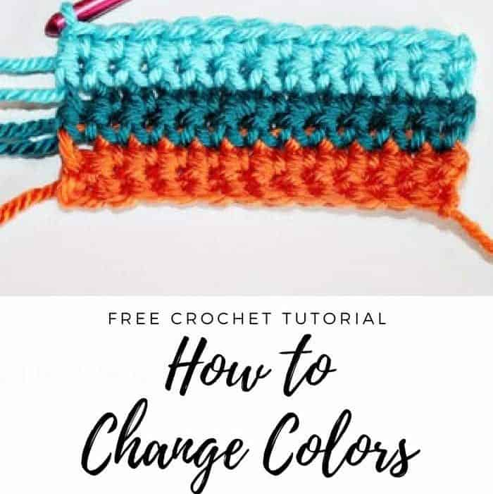 Learn How to Change Colors in Crochet From Rescued Paw Designs. Click to Read or Pin and Save for Later! www.rescuedpawdesigns.com