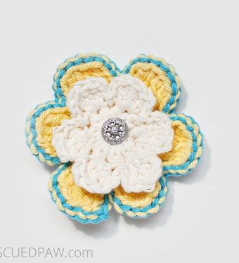 Learn to Crochet a Spring Flower!!