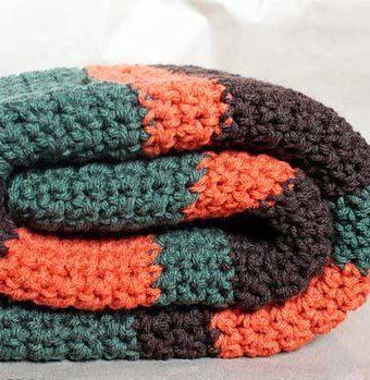 Woodland Inspired Crochet Blanket