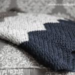 Chevron Crochet Blanket Pattern
