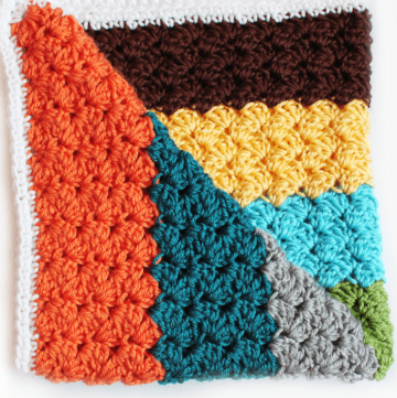 How to Crochet Blanket Stitch