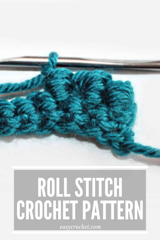 Bullion Stitch Crochet Tutorial via @easycrochetcom