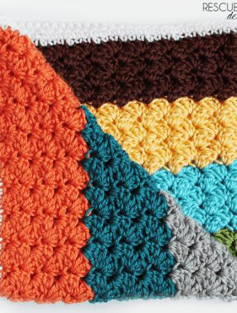 Crochet Blanket Stitch Pattern