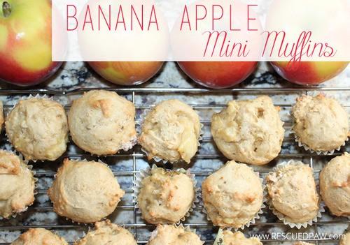 Banana Apple Mini Muffins Recipe