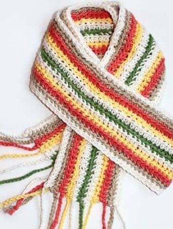 Extra Long Summer Crochet Scarf Pattern