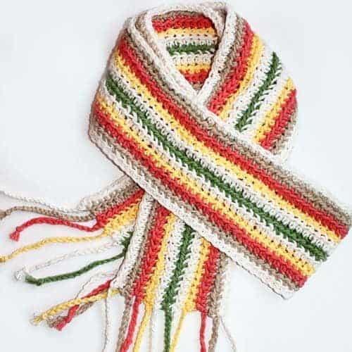 Extra Long Summer Crochet Scarf Pattern