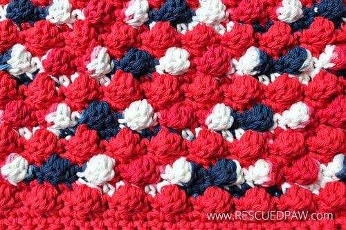 Bobble Crochet Hot Pad Pattern