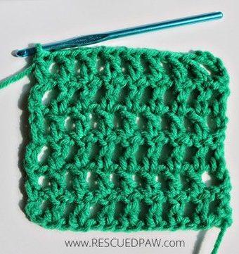 Crochet Mesh Stitch Pattern