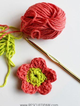 So Simple Crochet Flower Pattern