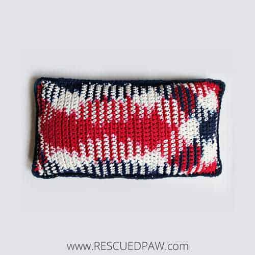 Patriotic Crochet Pillow Pattern