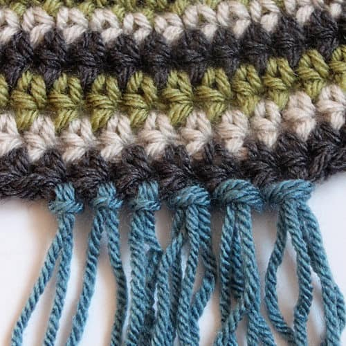 How to Add Fringe to Crochet Projects