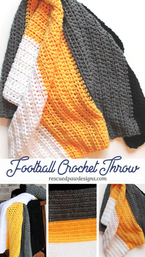 Pittsburgh Steelers Crochet Blanket Pattern