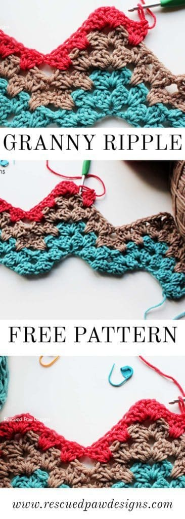 Granny Ripple Tutorial - Crochet Pattern
