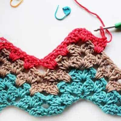 Granny Ripple Crochet Pattern