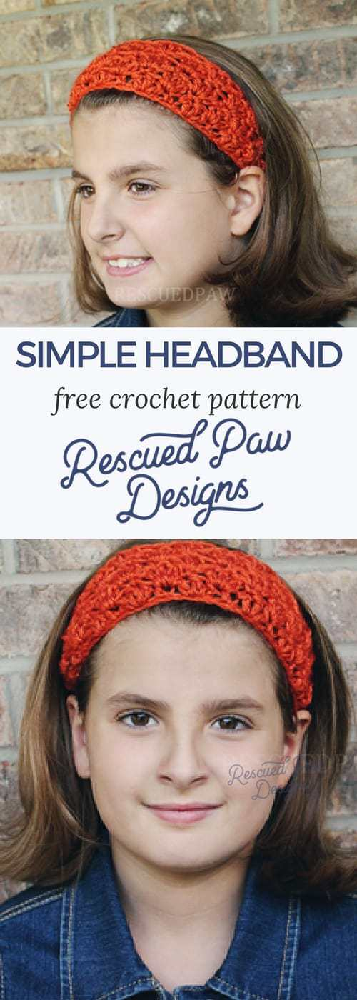 Fall Crochet Headband Pattern