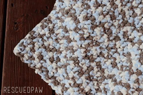 Crochet Baby Blanket Pattern - Sea Soft by Easy Crochet