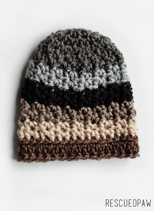 Easy Newborn Crochet Hat