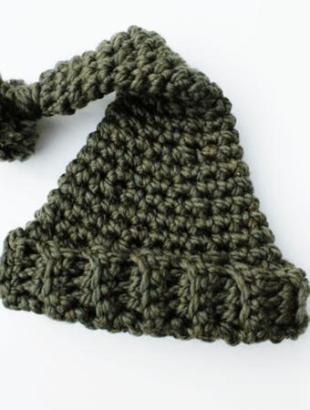 Newborn Crochet Beanie Hat