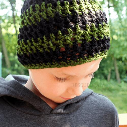 Gamer Beanie Crochet Pattern