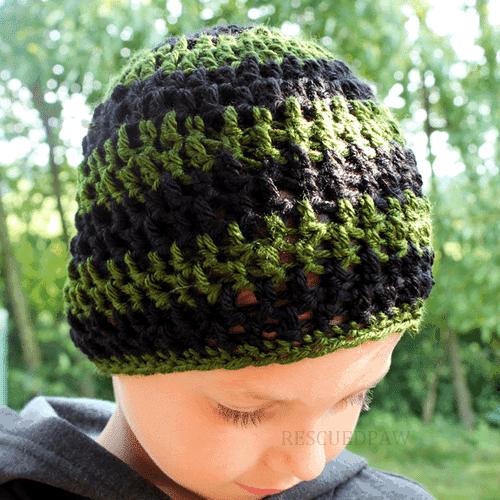 Gamer Beanie Pattern - Free Crochet Pattern -