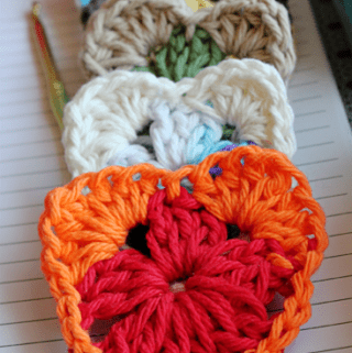 Crochet Granny Heart Pattern