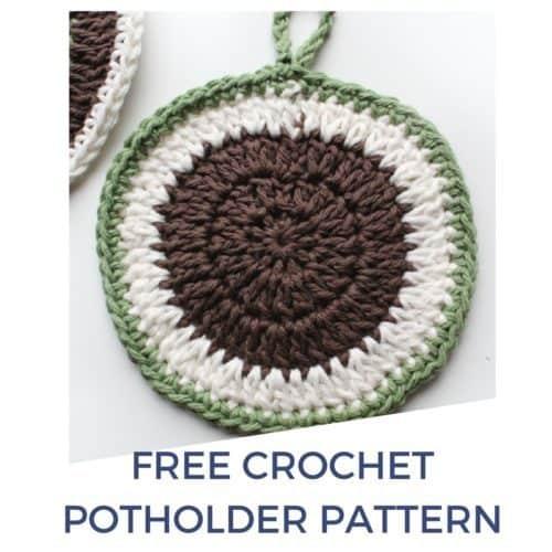 Round Crochet Potholder Pattern