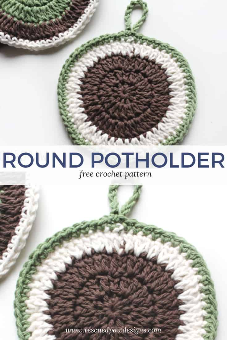 Crochet Round Pot Holder