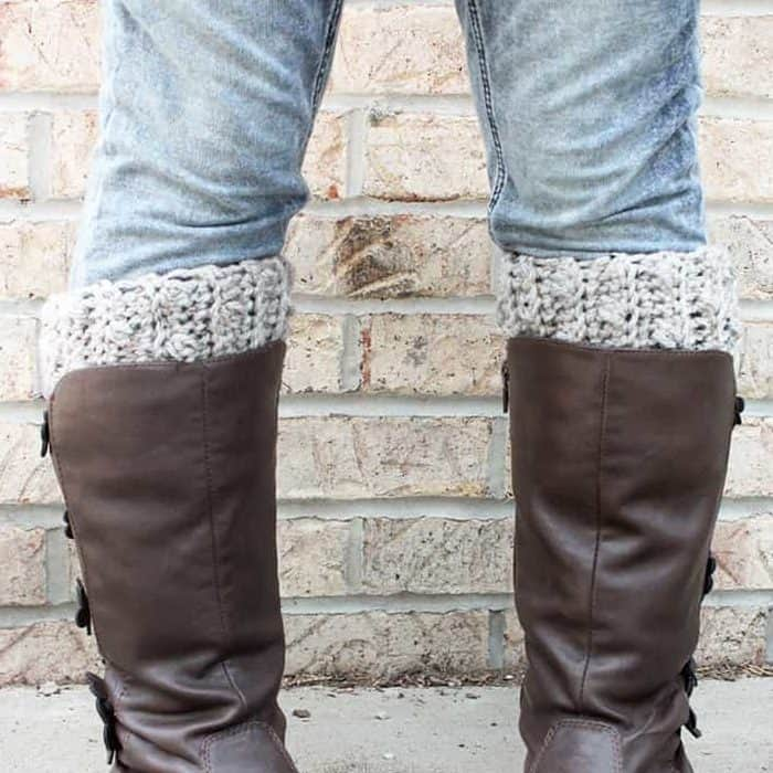 Simple Boot Cuffs by Rescued Paw Designs www.rescuedpawdesigns.com