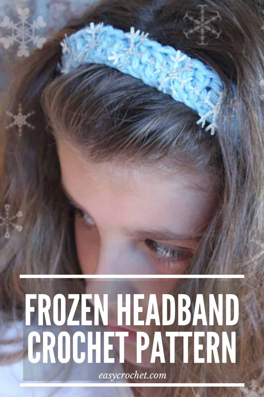 SnowFlake Headband Pattern via @easycrochetcom
