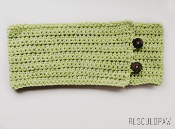Cozy Mint Green Fall Crochet Cowl {FREE PATTERN}
