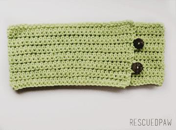 Cozy Mint Green Fall Crochet Cowl {FREE PATTERN}