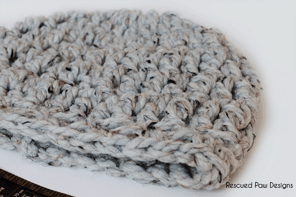 Free Crochet Hat Pattern from Rescued Paw Designs