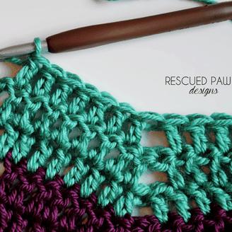 Classic Ripple Crochet Pattern Tutorial