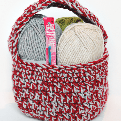 Crochet Gift Basket Pattern