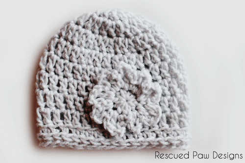 Oversized Crochet Flower Pattern