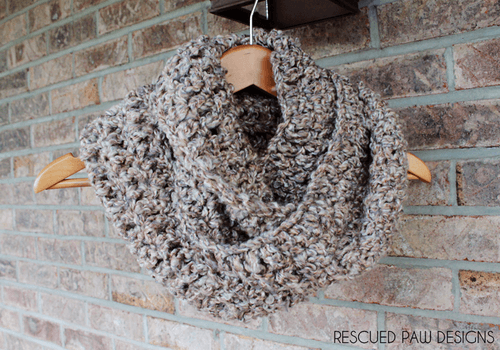 Simple Crochet Scarf Pattern