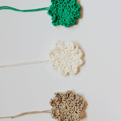 Christmas Crochet Flowers