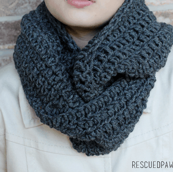 Mix it Up Crochet Scarf Pattern