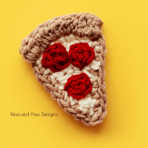 Crochet Pizza Slice Pattern