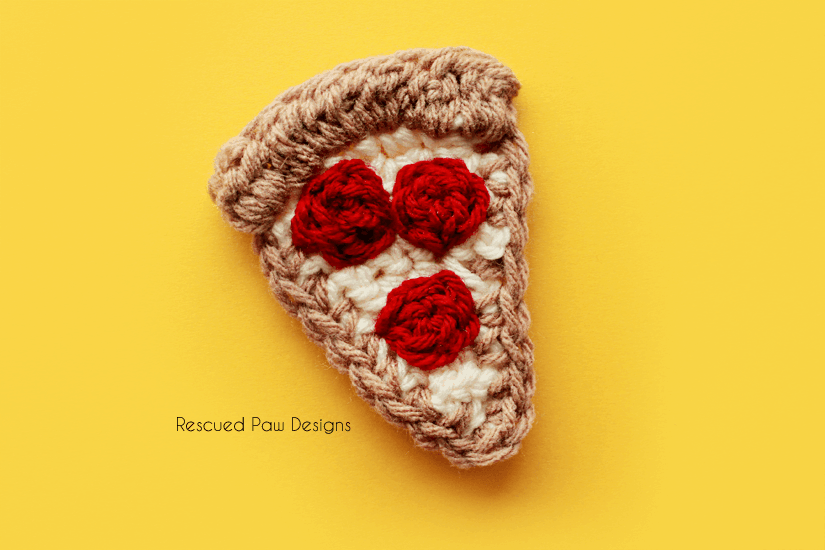 Crochet Pizza Pattern