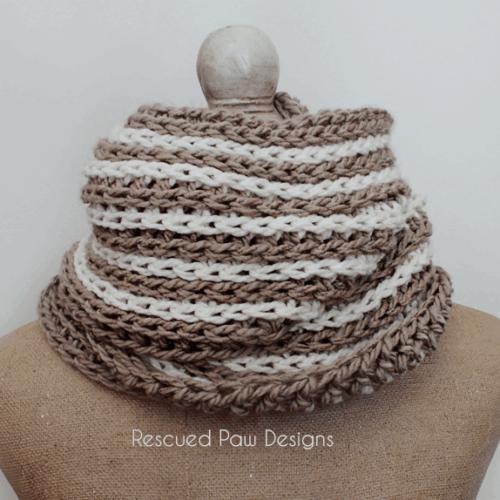 Oversized Crochet Scarf Pattern