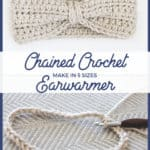 Chained Crochet Headband Pattern