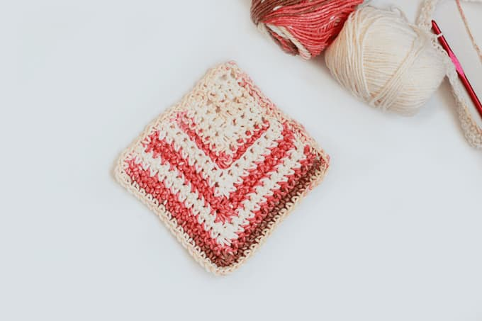 Crochet Mitered Square Pattern