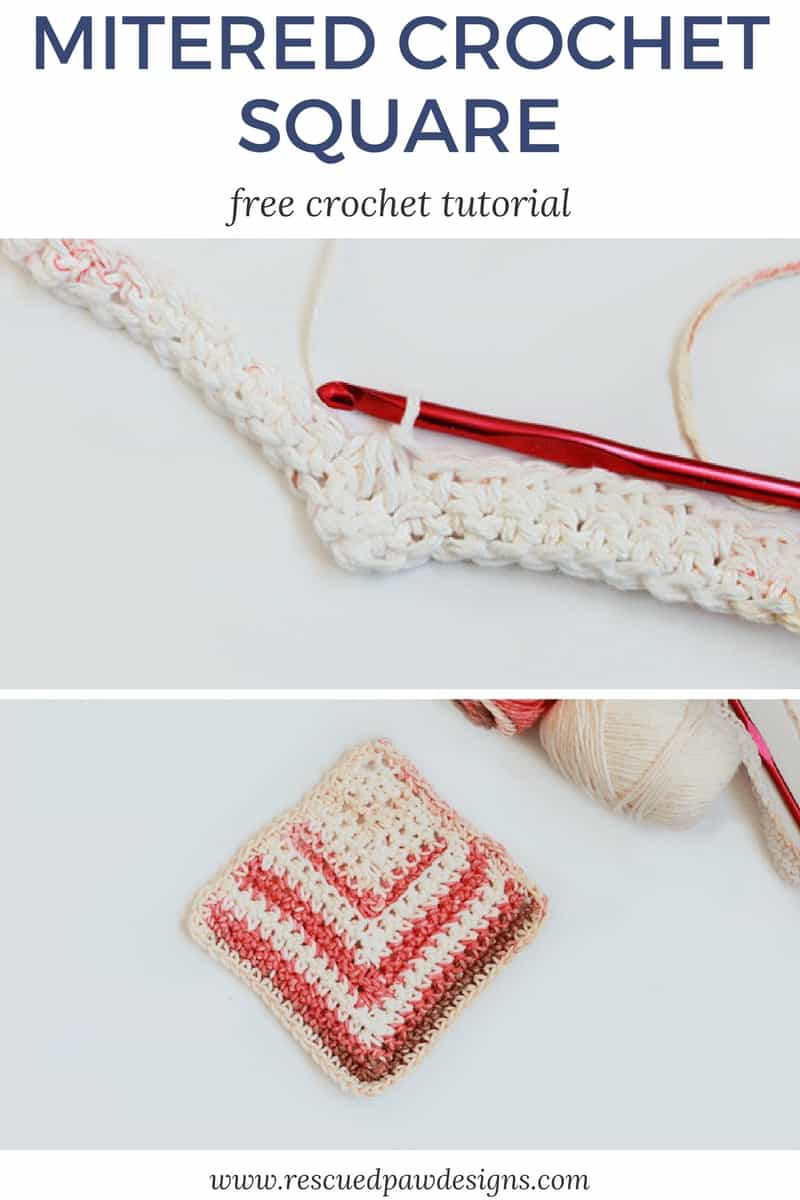 crochet mitered square