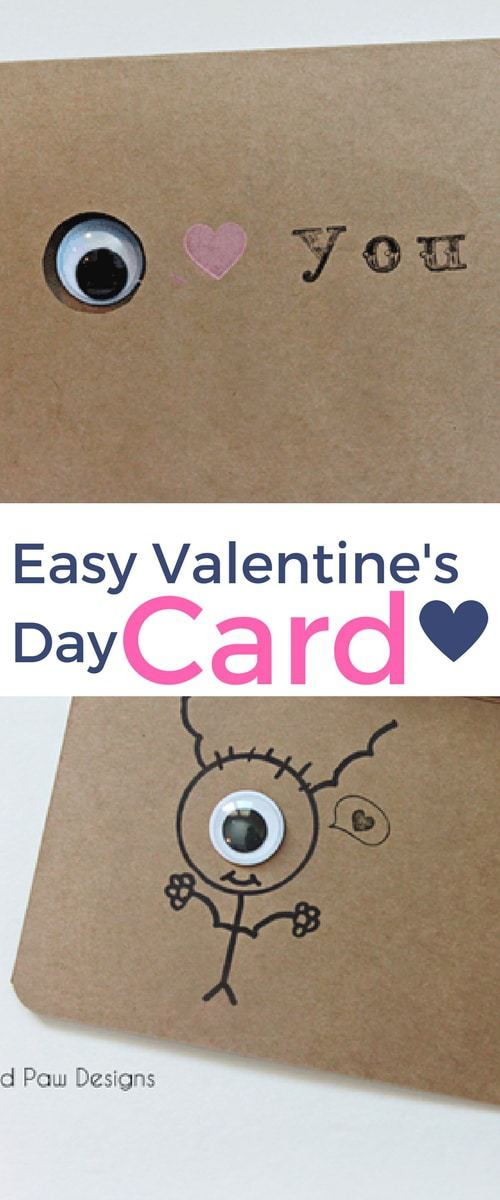 Make your own custom Valentine's Day Cards Today! Easy Valentine's Day Cards!