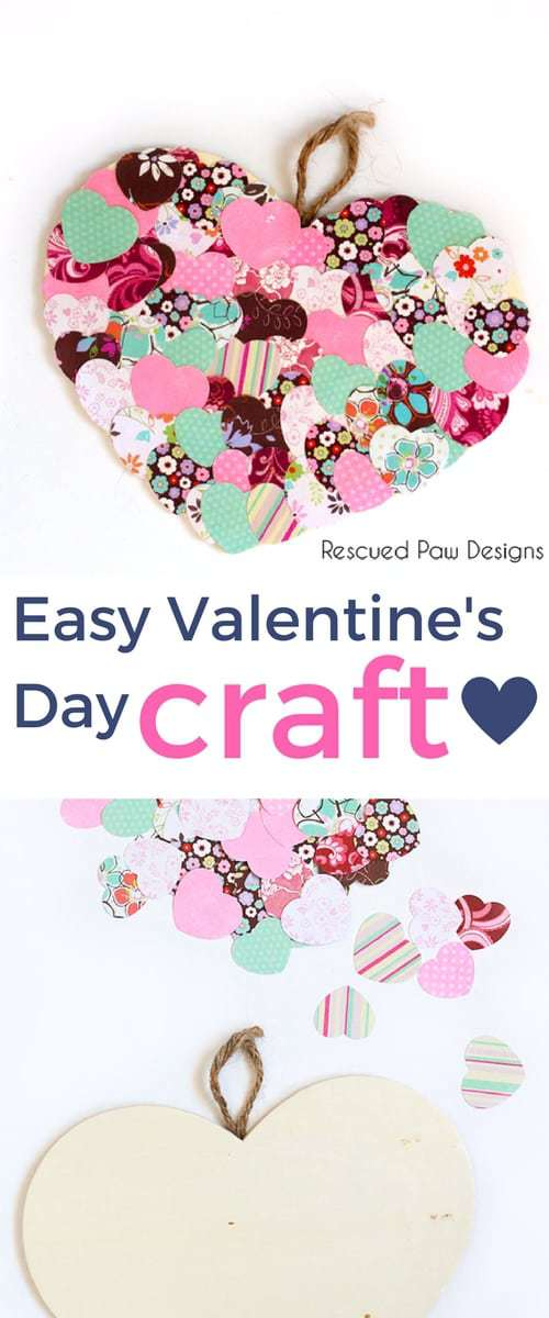 Valentine's Day decoration ideas for school or home! Make this easy Valentine's day Craft today!