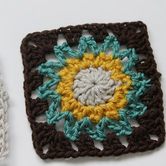 Crochet Square Motif Pattern